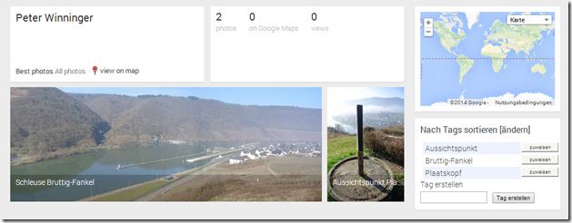 Google Maps / Panoramio - Panoramio Übersicht