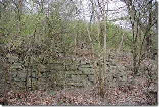 Alter Weinbergweg Bad Breisig - Terrassenmauer