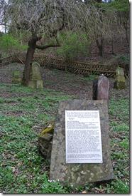 Alter Weinbergweg Bad Breisig - jüdischer Friedhof