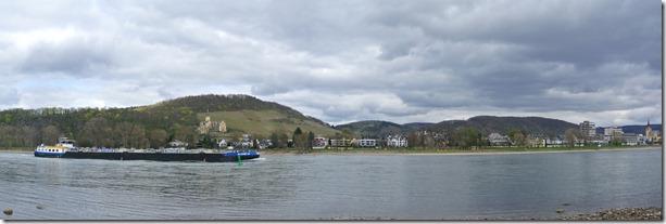 Alter Weinbergweg Bad Breisig - der Rhein