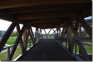 Rheinsteig Vallendar-Ehrenbereitstein - Holzkonstruktion