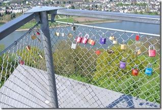 Rheinsteig Vallendar-Ehrenbereitstein - Schlösser an der Aussichtsplattform