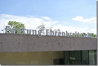 Rheinsteig Vallendar-Ehrenbereitstein - Eingang zur Festung