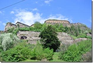 Rheinsteig Vallendar-Ehrenbereitstein - Blick zur Festung von Ehrenbreitstein