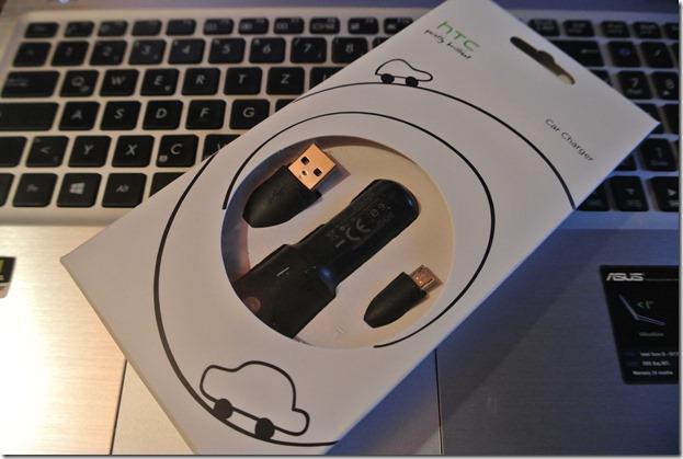 HTC Kfz Ladegerät - Verpackung