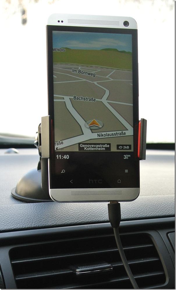 HTC One - OSO Halterung mit dem HTC One