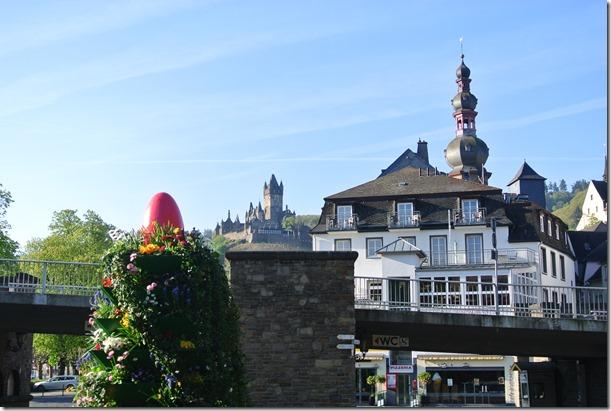 Moselsteig Etappe 19.2 - Blick auf die Altstadt