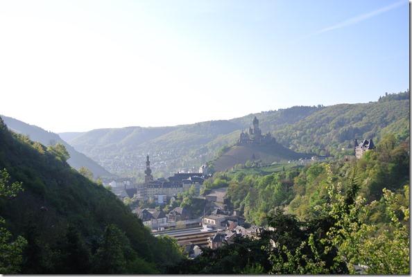 Moselsteig Etappe 19.2 - Blick zurück auf Cochem