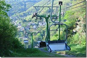 Moselsteig Etappe 19.2 - Seilbahn von oben