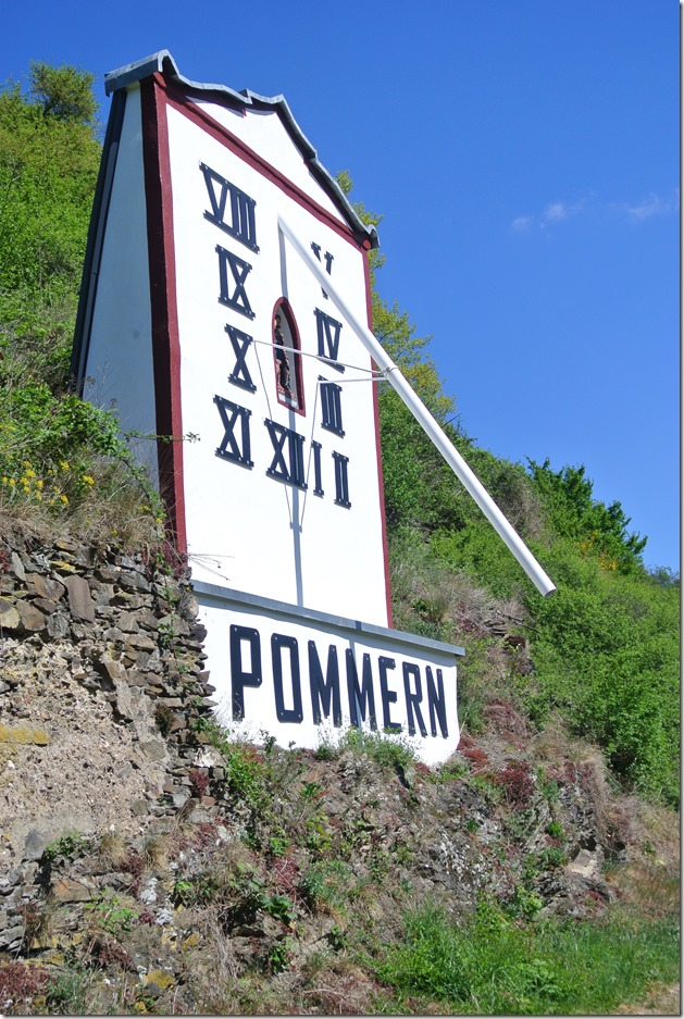 Moselsteig Etappe 19.2 - Pommerner Sonnenuhr