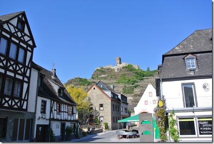 Moselsteig Etappe 23 - Blick zur Burg