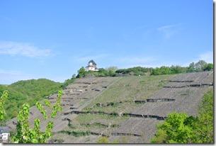 Moselsteig Etappe 23 - Blick zur Matthiaskapelle