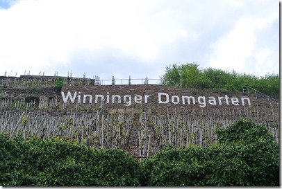 Moselsteig Etappe 23 - Winninger Domgarten