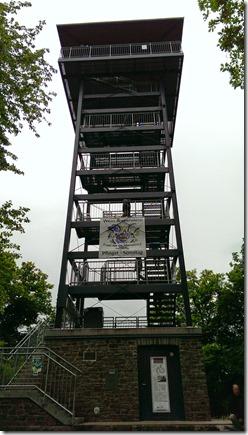 Moselsteig Etappe Reil - Zell (Mosel) - Aussichtsturm Prinzenkopf