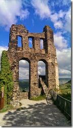 Moselsteig Traben-Trarbach - Reil - Ruine der Grevenburg