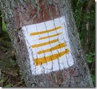 Moselsteig Etappe Reil - Zell (Mosel) - Wegkennzeichnung