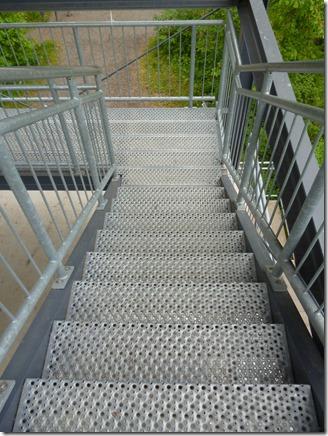 Moselsteig Etappe Reil - Zell (Mosel) - Treppe des Turms