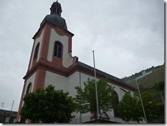 Moselsteig Etappe Reil - Zell (Mosel) - Kirche in Zell