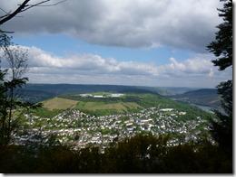 Moselsteig Traben-Trarbach - Reil - Ausblick ins Moseltal