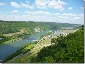 Moselsteig Traben-Trarbach - Reil - Enkirch und die Mosel
