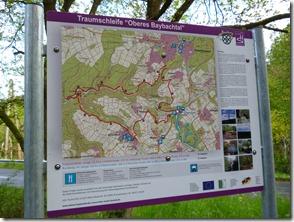 Traumschleife Oberes Baybachtal - Übersichtskarte