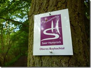 Traumschleife Oberes Baybachtal - Wegezeichen