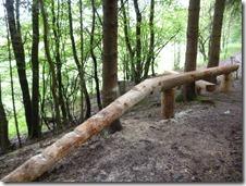 Traumschleife Oberes Baybachtal - Holz zum Klettern