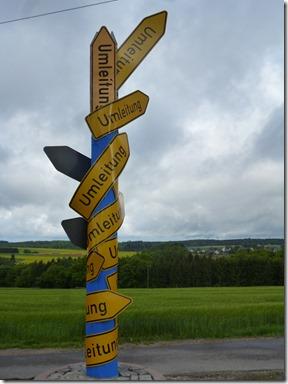 Traumschleife Oberes Baybachtal - Umleitung :-)