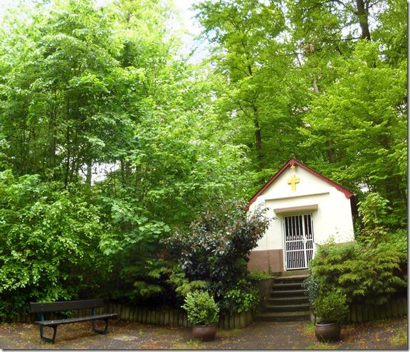 Traumschleife Oberes Baybachtal - Kapelle im Wald