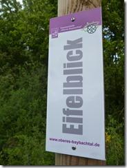 Traumschleife Oberes Baybachtal - Hinweisschild 3