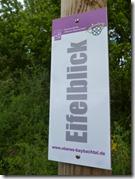Traumschleife Oberes Baybachtal - Hinweis Eifelblick