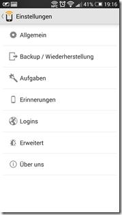 HTC One NFC Tags - Trigger: Einstellungen