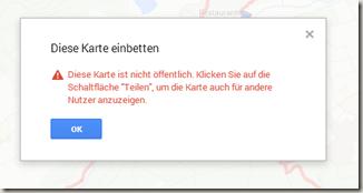 Google Meine Tracks 2.0.7 - Karte muss öffentlich sein