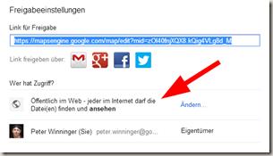 Google Meine Tracks 2.0.7 - Veröffentlichen
