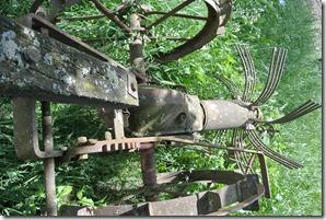 Rheinsteig Sayn - Vallendar - Alte Landmaschinen 2