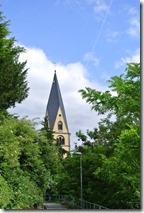 Rheinsteig Sayn - Vallendar - Pfarrkiche Vallendar