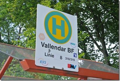 Rheinsteig Sayn - Vallendar - Bushaltestelle Vallendarf Bahnhof