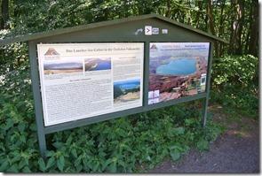 Laacher See: Geopfad L - Übersichtskarte