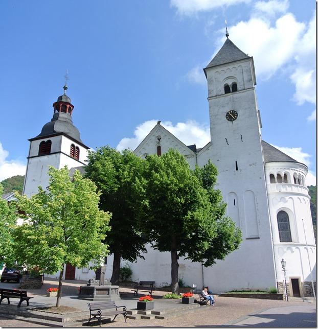 Moselsteig Treis-Karden - Moselkern - St. Castor Basilika