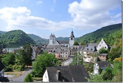 Moselsteig Treis-Karden - Moselkern - Panorama Treis und Castor