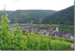 Moselsteig Treis-Karden - Moselkern - Blick auf Müden