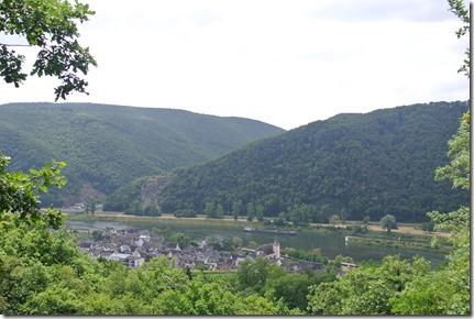Moselsteig Treis-Karden - Moselkern - Blick vom Blickkreuz