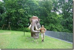 Fürstenweg - Selfie mit Mammut