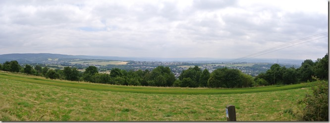 Fürstenweg - Panoramablick