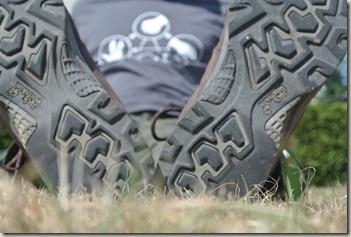 Jack Wolfskin Trail Rider - Klare Abnutzungszeichen