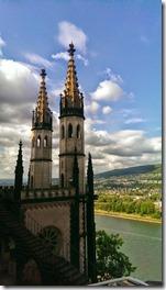 Die Muse von Stolzenfels - Türmchen der Schlosskapelle
