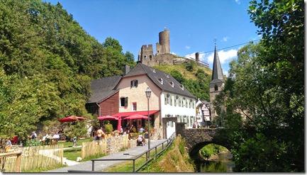 Traumpfad Ritterschlag - Rückseite des Alten Pfarrhaus