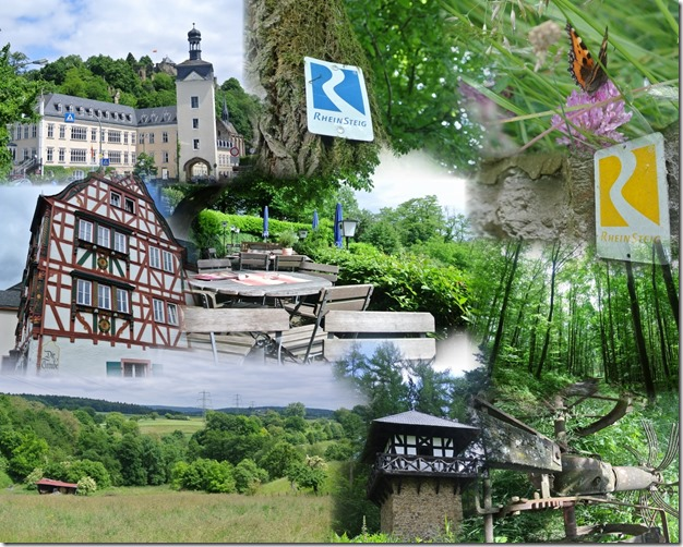 Rheinsteig Sayn - Vallendar - Montage