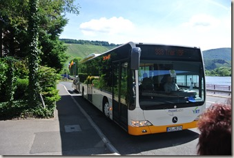 Moselsteig Schweich - Mehring - VRT Bus