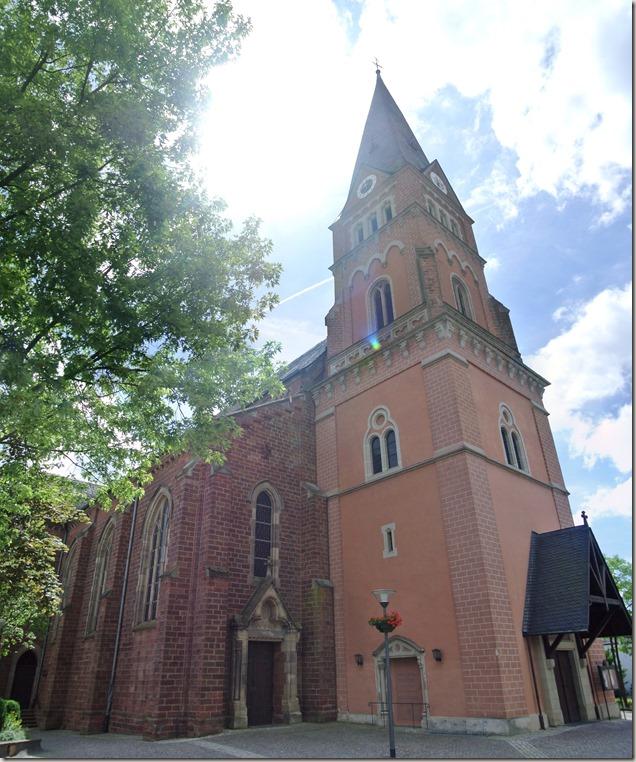 Moselsteig Schweich - Mehring - Kirche St. Martin